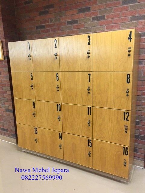 loker berkas perpustakaan sekolah