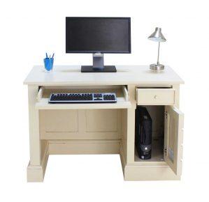 Meja Komputer Kantor Elegan Terbaru Duco Putih