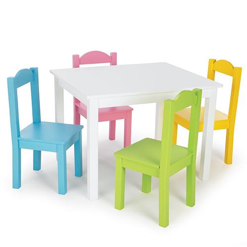 Meja Kursi Sekolah Tk Warna