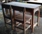 Proses Pengerjaan Set Meja Kursi Sekolah Nawa Mebel Jepara