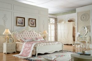 Set Kamar Tidur Pengantin Ukir Mewah