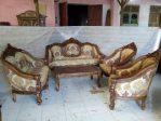 Set Meja Kursi Sofa Ruang Tamu Ukir Terbaru Harga Murah