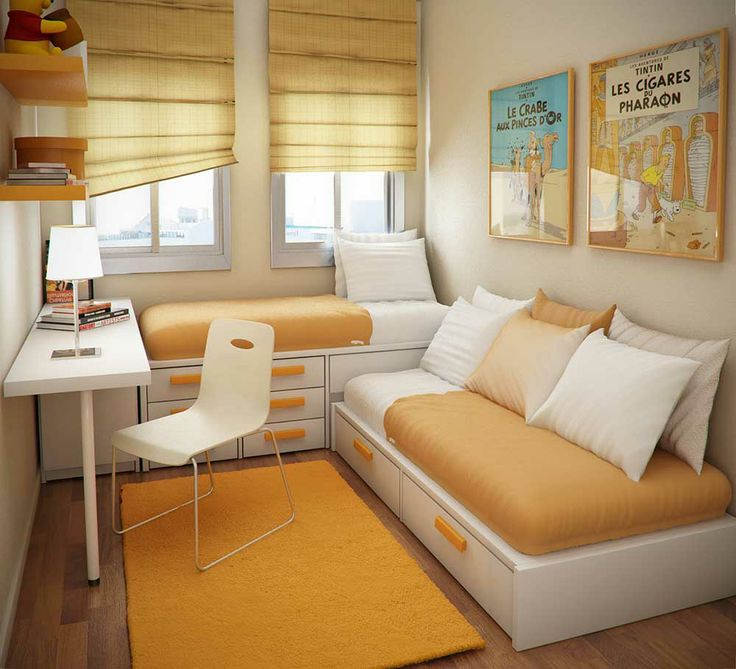 Set Ruang Tidur Minimalis Kotak Untuk Ruang Kamar Sempit