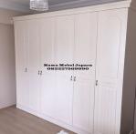 Almari Pakaian Minimalis 6 Pintu Duco Terbaru 2017