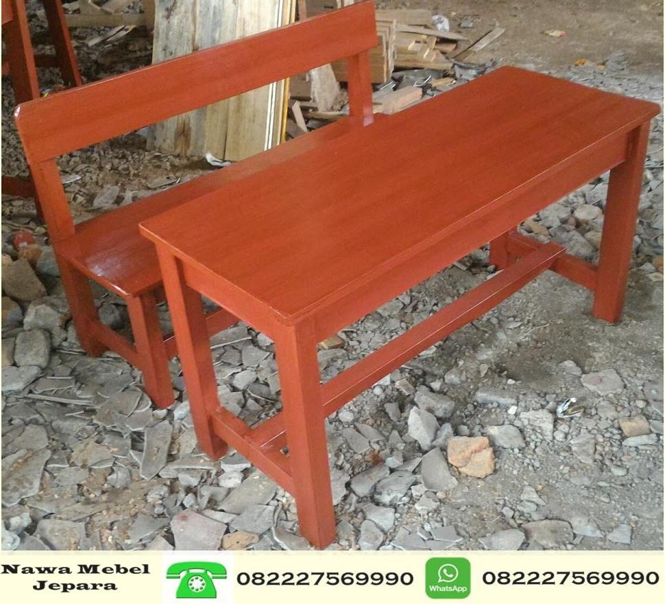Meja Sekolah TK Taman Kanak Kanak Panjang