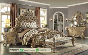 Tempat Tidur Ukir Mewah Racoco