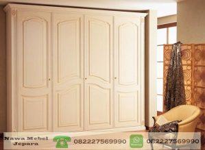 Almari Minimalis Modern 4 pintu