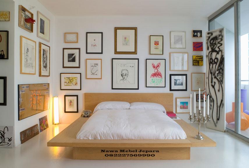 Tempat-Tidur-Minimalis-full-blok-terbaru Set Tempat Tidur Pengantin Minimalis Terbaru 2018