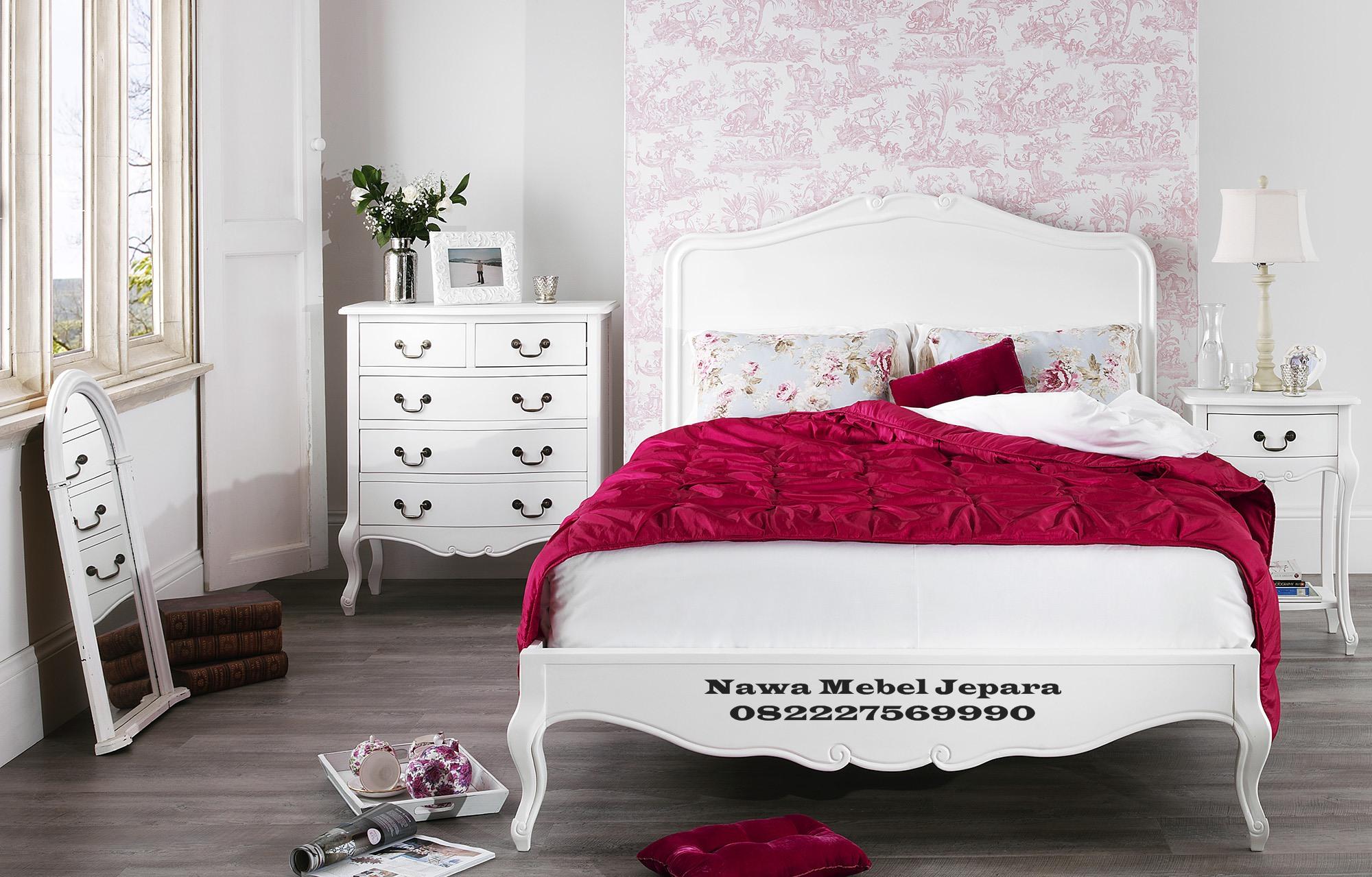 Tempat-Tidur-Putih-Minimalis-Harga-Murah Set Tempat Tidur Pengantin Minimalis Terbaru 2018