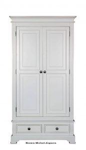 Lemari Pakaian Minimalis laci 2 pintu