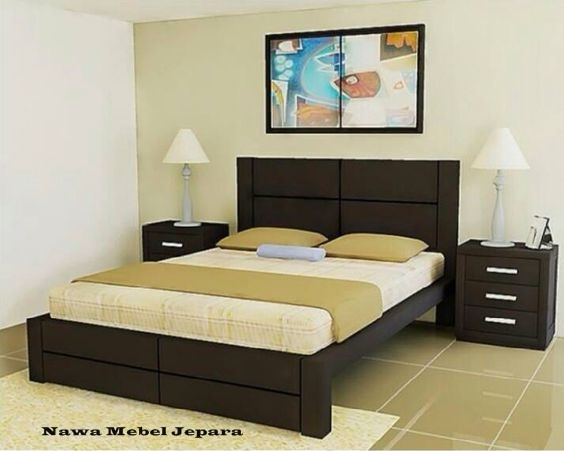 Ranjang Tempat Tidur Minimalis Terkini
