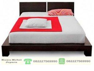 Tempat Tidur Minimalis Pengantin Jati