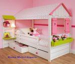 Ranjang Tempat Tidur Anak Model Rumah 2017