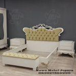 Jual Tempat Tidur Duco Putih Gold Terbaru