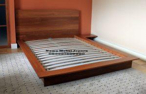 Tempat Tidur Jati Minimalis terbaru 2018