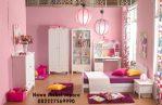 Set Kamar Anak Lemari Anak Pink
