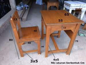 Harga Meja Kursi Sekolah Terbaru