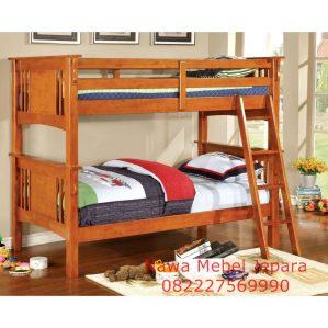 Kamar Tidur Tingkat kayu Akasia Murah