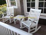 Kursi Goyang Teras minimalis Duco Putih