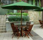 Set Meja Kursi Cafe Payung