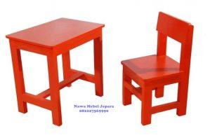 Harga Meja Kursi Sekolah TK Taman Kanak Kanak