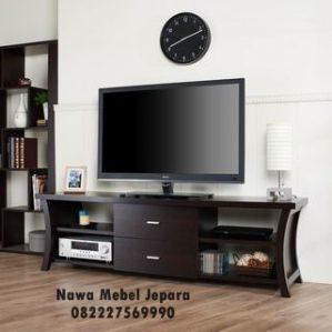 Rak TV Minimalis Kayu Jati