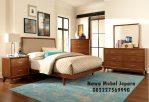 Desain Tempat Tidur Minimalis Jati Elegan