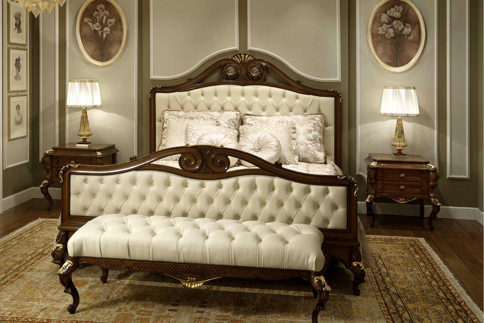desain Tempat Tidur Mewah Elegan Terbaru