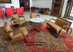 Kursi Sofa Tamu Jati Model Becak Klasik
