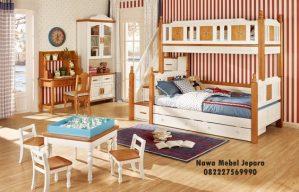 Set Kamar Tidur Anak Tingkat Multifungsi