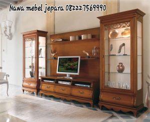 Bufet TV Mewah Jati