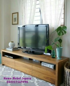 Bufet Tv Jati Terbaru Murah