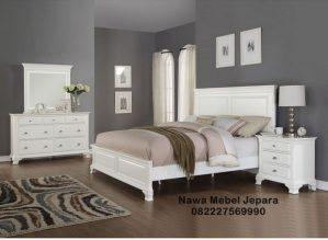 Jual Tempat Tidur Minimalis Modern Duco Putih