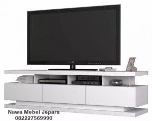 Meja TV Modern Putih NM-427