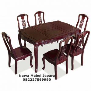 Jual Meja Makan Jati NM-430